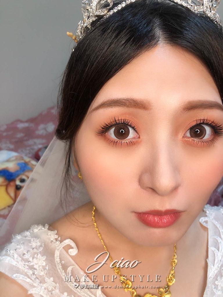 【新秘婕喬】bride雅熏 結婚造型 / 韓系優雅,日系編髮