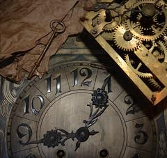 In the Nick of Time (BKHagar *Kim*) Tags: bkhagar time clock key gears cogs story shaun friend london urchin julesphotochallengegroup