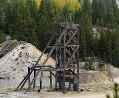 Headframe / Robert Emmet Mine (Ron Wolf) Tags: historic leadville abandoned architecture headframe mine mining tailings colorado