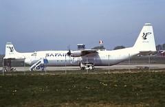 ZS-RSI L. Hercules Safair ( Atlantic Cargo) CVT 1995 (cvtperson) Tags: zsrsi lockheed hercules c130 safair atlantic cargo coventry cvt egbe