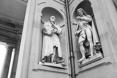 DSCF0313 (Chris28mm) Tags: florence italy bw sculpture