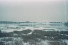Coast range arc (Moesko Photography) Tags: analogue smena8m winter snow lake landscape outdoor afternoon munich münchen bavaria germany riem park