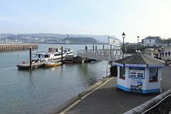 Ticket office (phileveratt) Tags: fencefriday fencedfriday plymouth barbican harbour devon