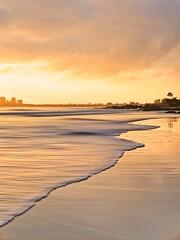 Coastal Sunrise (Bron.Wolff) Tags: views nature landscape haze blur longexposure sea queensland coastal ocean water clouds sunrise