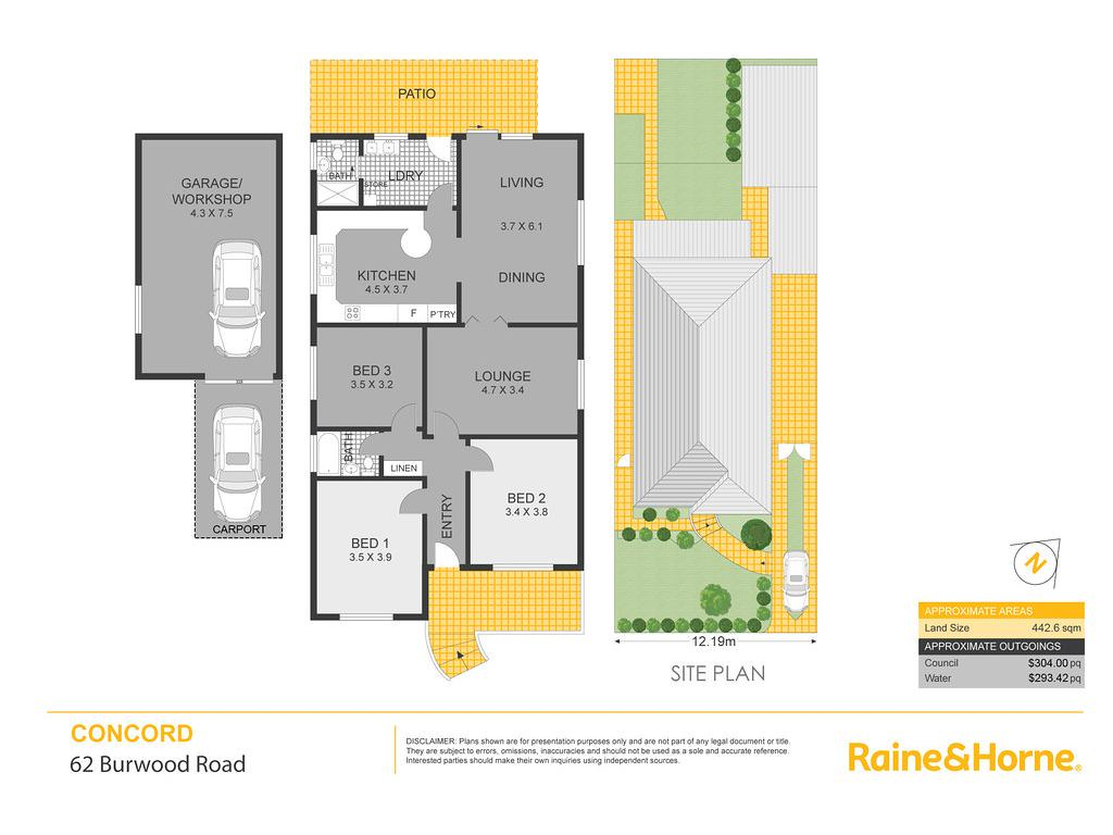 62 Burwood Road, Concord NSW 2137 floorplan
