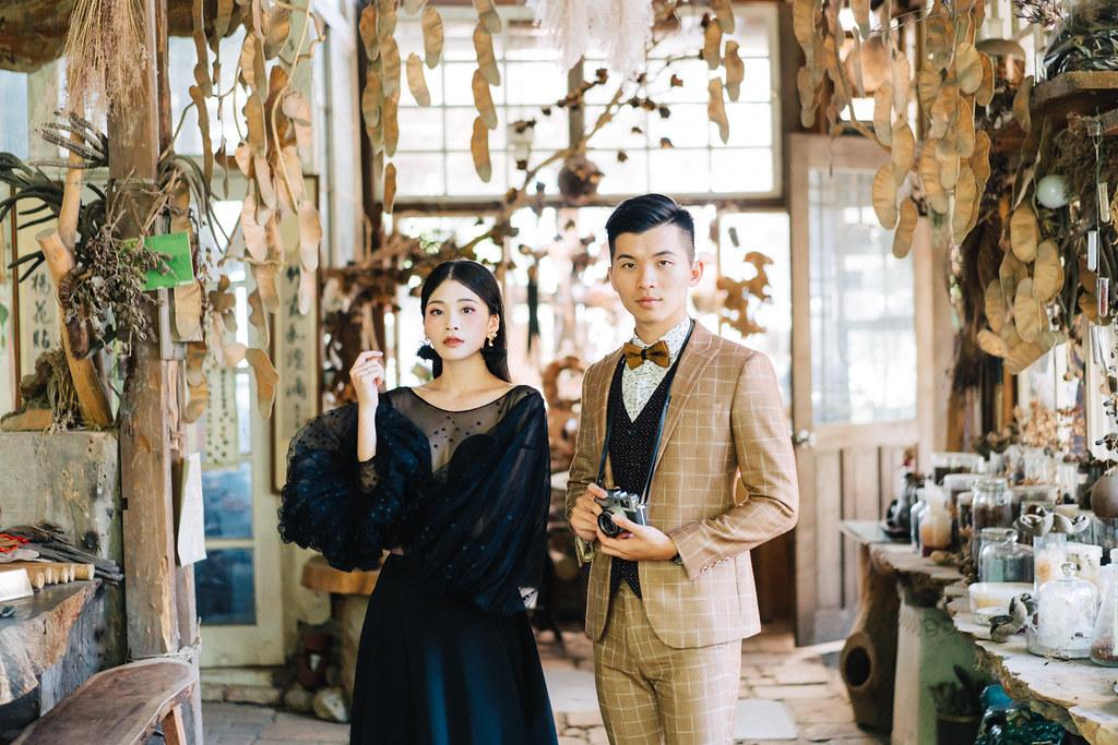 [自助婚紗] Guan&Erin|漁光島奇美博物館