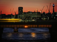 Sweet Thames, run softly (Steve Brewer Photos) Tags: london night nightshot nocturnal nocturne dark shadow lights illumination thames riverthames sweetthames