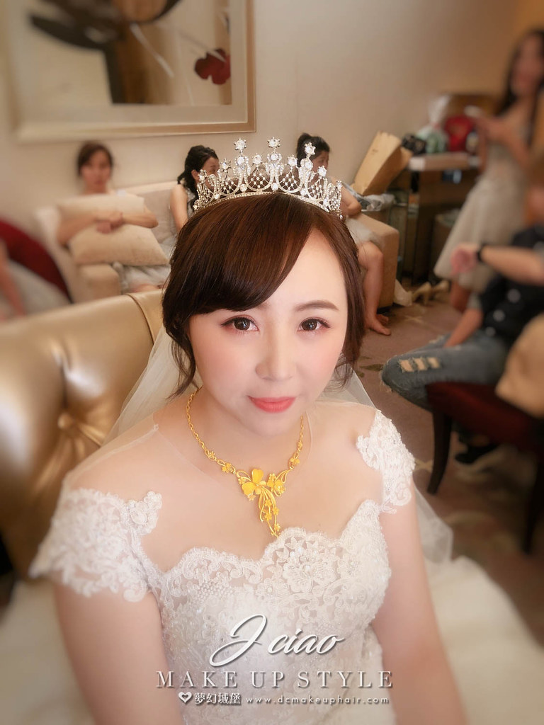 【新秘婕喬】bride海玲 結婚造型 / 華麗公主,韓系造型