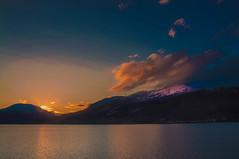 Handangerfjord Eidfjord (Tony Shertila) Tags: cruise europe pig utne hordaland norway 20170414044728 mountain fjord sea sunrise dawn outside clouds sky reflection