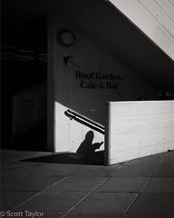 Descending (Scrufftie) Tags: monochrome style mono southwark bankside london streetphotographyworkshop street streetphotography fuji blackwhite photoshop bw southbank fujifilm lightroom