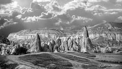 time travelling... (devadipmen) Tags: blackwhite göreme görememilliparkı kapadokya nationalpark naturepark nevşehir palaeolithic türkiye