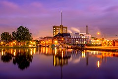 Delft is beautiful (kaveh zabihi) Tags: delft netherlands longexposure city nikon nightphotography nigh landscape holland zuidholland colorful nikkor sigma historic travel traveler sky water canal dutch reflection 35mm south