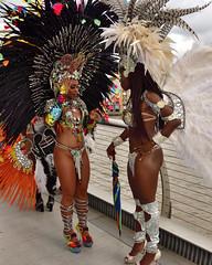 Carnival Girls 1 (Croydon Clicker) Tags: dancers girls carnival costumes feathers london nikon sigma autumn