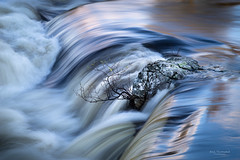 Water detail (ann.thomstad) Tags: norway water slow shutter river smooth nature detail