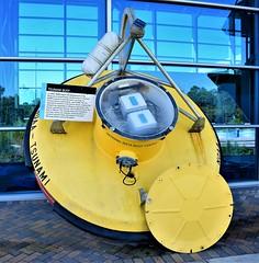 NOAA DART system tsunami bouy for detection of tsunamis (ciscoaguilar) Tags: infinitysciencecenter museum pearlington mississippi buoy noaa dart tsunami