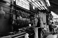 Market, Prince Edward, Hong Kong. by Leica M10-D, Canon 35mm F/2 LTM (duncanwong) Tags: butcher meat market local old prince edward mong kok hong kong leica m10d canon 35mmm 2 ltm m mount bayonet screw thread