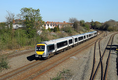 168217 Tyseley (CD Sansome) Tags: tyseley station train trains birmingham chiltern railways arriva clubman 168 168217