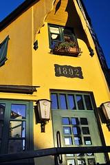 Ristorante Caruso (AntyDiluvian) Tags: iceland reykjavik laugavegur street shoppingstreet shops restaurant ristorantecaruso ialianrestaurant