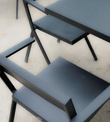 SoftChair3.jpg (Klaus Ressmann) Tags: klaus ressmann omd em1 abstract fparis france fondationcartier spring chairs design flicvarious softtones table klausressmann omdem1