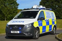 FX18 CVL (S11 AUN) Tags: lincolnshire police mercedesbenz vito fciu forensic collision investigation unit ciu 999 emergency vehicle fx18cvl