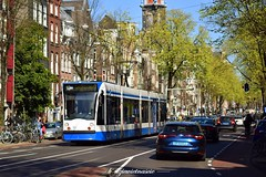 Siemens Combino #2030 (b-dziewiętnaście) Tags: siemens combino 2030 linia13 lijn13 line13 holand holandia tram tramwaj strasenbahn gvb gvbamsterdam