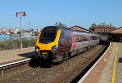 220011 Tyseley (CD Sansome) Tags: tyseley station train trains birmingham cross country xc arriva voyager 220 220011