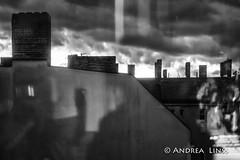 still life ... (andrealinss) Tags: bw blackandwhite berlin schwarzweiss insideout stilllife himmel sky ciel roof dach toit andrealinss 35mm availablelight