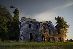 Abandoned Home Cool-Warm (Notley Hawkins) Tags: httpwwwnotleyhawkinscom notleyhawkinsphotography notley notleyhawkins 10thavenue rural missouri abandoned missouriphotography lightpainting 光绘 光繪 lichtmalerei pinturadeluz ライトペインティング प्रकाशपेंटिंग ציוראור اللوحةالضوء trees 2019 sky blue bluelight eerie moon lunar moonlight httpwwwnotleyhawakinscom land bucolic landscape farm house home summer slatermissouri salinecountymissouri architecture facade longexposure warmcool orangelight warm cool september