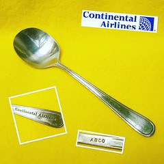 Continental Airlines 01 (schwalbsebastian) Tags: airline teaspoon airlinefood travelblogger instafood aviation airplane airlinecutlery instagramaviation plane planes collection collector flying airlinespoons instaplane cucharita travel crew crewlife instaaviation avgeek avporn aircraft fly cabincrew businessclass continentalairlines usa