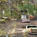 Bumper cars, Pripyat, Ukraine