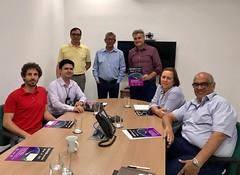 Visit at CEMADEN Brazil