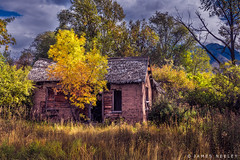Last Days (James Neeley) Tags: utah cachevalley autumn fall landscape oldbuilding jamesneeley