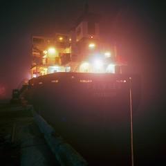 Dublin Port. (Rafal Krol) Tags: industrial hasselbald silence 160ns fuji ship ireland port dublin rafalkrol