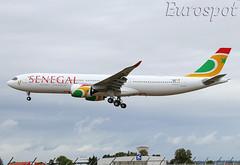 F-WWYN Airbus A330 Neo Air Senegal (@Eurospot) Tags: lfbo toulouse blagnac 6vanb airbus a330 a330900 neo 1923 fwwyn airsenegal