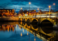 Queens Bridge, Belfast (david.travis) Tags: nd10 longexposure northernireland unitedkingdom slow belfast water longexpo neutraldensity slowshutter