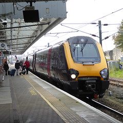 220012 at Berwick-upon-Tweed (3/10/19) (*ECMLexpress*) Tags: cross country class voyager berwick upon tweed 220 arriva dmu 220012 ecml