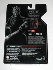 darth maul star wars the black series archive series basic action figures 2019 hasbro mosc b (tjparkside) Tags: darth maul star wars black series archive 6 six inch figures figure 2019 hasbro sith wave 2 lightsaber lightsabers double end ended cloak hood binoculars horns apprentice phantom menace tpm episode 1 one prequel qui gon quigon jinn obi wan obiwan kenobi naboo 2013 basic action mosc