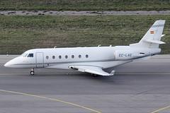 Executive Airlines SA Gulfstream 200 EC-LAE (c/n 219) (Manfred Saitz) Tags: vienna airport schwechat vie loww flughafen wien executive airlines gulfstream 200 g200 eclae ecreg