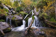 Perafita-Claror river, Pyrenees (StarCitizen) Tags: pyrenees mountains sky autumn andorra landscape scenery scenic foliage river stream
