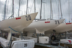 Marlow Racing Yachts, Cowes (Peter Cook UK) Tags: basin marlow isle wight racing cowes yacht haven