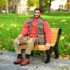 №652. New Sweater 1:6 (OylOul) Tags: oyloul 2019 q3 sep 16 action figure damtoys knitting miniature
