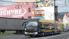 2019-10-01 Teplice Trolleybus Nr.221 (beranekp) Tags: czech teplice teplitz trolley trolleybus trolebus trolejbus obus filobus tradbus arriva škoda 33tr 221