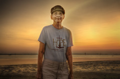 Hope (JDS Fine Art Photography) Tags: portrait woman hope inspiration inspirational beach landscape dramatic dramaticportrait sunset spiritual bestportraitsaoi