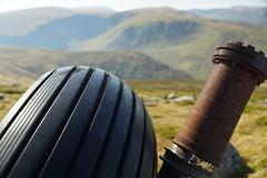 Tyre Detail (steve_whitmarsh) Tags: aberdeenshire scotland scottishhighlands highlands cairngorms wheel tsagairtmor mountain hills landscape nature topic