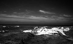 A night at the sea (Rosenthal Photography) Tags: dänemark asa400 20190907 ff135 kleinbildformat urlaub analog epsonv800 houvig ilfordrapidfixer washiz400 olympus35rd nordsee rodinal12521°c7min night sea northsea denmark summer sun sunshine dunes landscape redfilter mood blackandwhite olympus olympus35 35rd zuiko fzuiko 40mm f17 washi filmwahi washiz rodinal 125 ilford rapid fixer epson v800