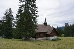 DSC02307 (Bergwandern Alpen) Tags: alpen alps bergwandern hiking kantonschwyz holzegg kapelle kirche brklausenkapelle bergkapelle chapel