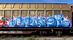 Graffiti on Freights (wojofoto) Tags: amsterdam nederland netherland holland graffiti streetart vrachttrein freighttraingraffiti freighttrain fr8 freights cargotrain wojofoto wolfgangjosten benoi