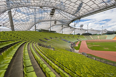 Olympiastadion (ab-planepictures) Tags: münchen olympiastadion stadion stadium bayern fusballstadion architektur