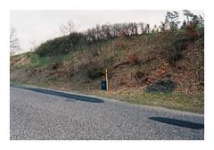 Mossø, Denmark. 2019. (csinnbeck) Tags: contax rx 35mm zeiss distagon 28 35 mossø skanderborg denmark 2019 film analog fujicolor fuji c200 fujifilm spring overcast road