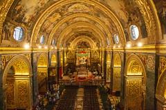Malta - St John's Co-Cathedral (Peter Meade) Tags: petermeade pjmeade malta gozo camino travel travelling holiday mediterranean mediterraneansea timeoff landmarks islandlife valletta stjonscocathedral canoneos5dmarkiii